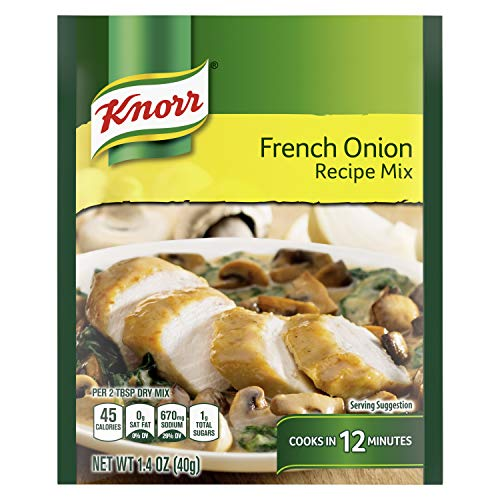 Knorr Recipe Mix For Soups, Sauces and Simple Meals French Onion No Artificial Flavors 1.4 oz