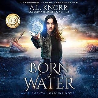 Born of Water: An Elemental Origins Novel audiobook cover art