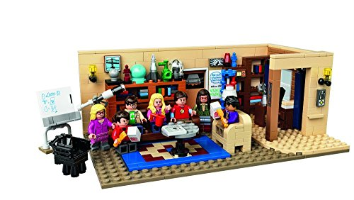 Lego - 21302 The Big Bang Theory: Appartamento di Leonard e Sheldon