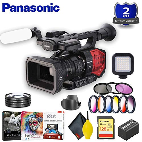 Why Should You Buy Panasonic AG-DVX200 4K Camcorder with Four Thirds Sensor and Integrated Zoom Lens...