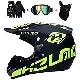 AKBOY Motocross Helmet/Motorrad Crosshelm,...