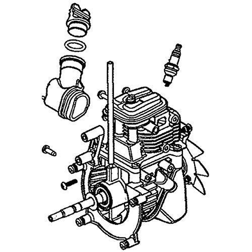 Fantastic Deal! Mtd 753-08337 Line Trimmer Short Block Genuine Original Equipment Manufacturer (OEM)...