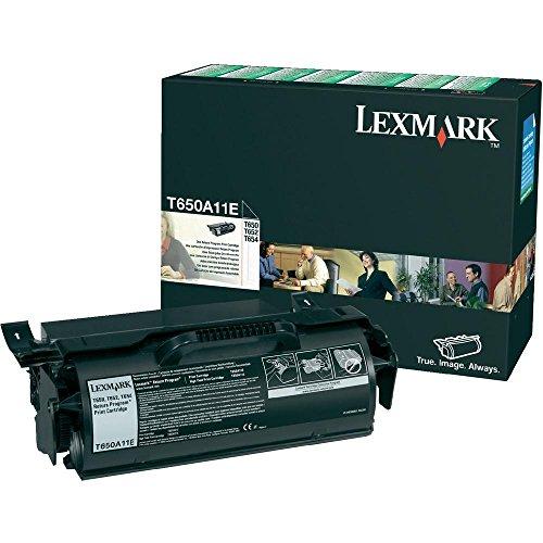 Lexmark T650A11E Cartridge 7000pages Black laser toner & cartridge - laser toner & cartridges (Black, Lexmark T650, T652, T654, 1 pc(s), Cartridge, 7000 pages, Laser)