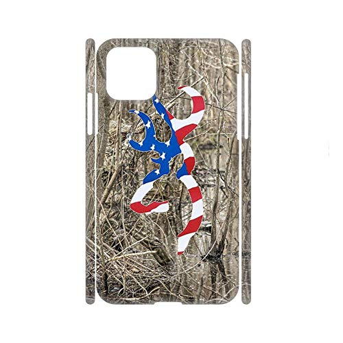 Slim Abs Phone Cases Compatible iPhone 11 Print with Browning 7 For Boys Choose Design 145-4