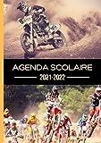Agenda Moto Cross 2021 2022: Scolaire Garçon Fille College Lycee Etudiant Primaire   Format A5 Journalier Quotidien en Français 3