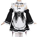 CoolChange Vestido de Camarera de Ram & Rem de Re: Zara Kara Hajimeru Isekai Seikatsu , Talla: S
