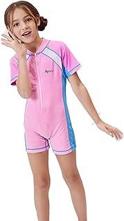 WoCoo Kids Full Body Shorty Wetsuits Anti-UV Sport Dive Skins,UPF 50 + Swimwear for Surfing Snorkeling Swiming