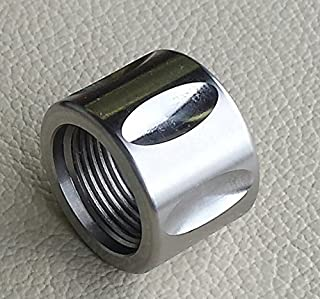 Xtreme Precision 5/8-24 Stainless Fluted Thread Protector