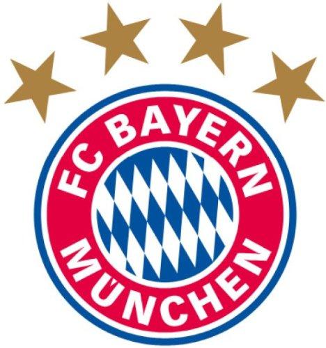 Bayern München Wandtattoo Logo (20 x 21 cm)