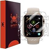 Skinomi TechSkin, pellicola protettiva Apple Watch Series 4-44 mm.Fronte/Retro, idrorepellente