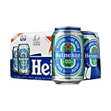【PACK OF 6】 Heineken 0.0% Non Alcohol Beer - Great Taste, Zero Alcohol - 11.2 Fl Oz