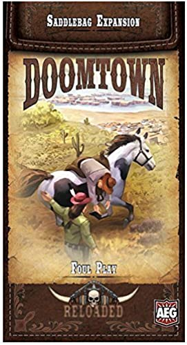Doomtown Reloaded Foul Play Board Game by AEG