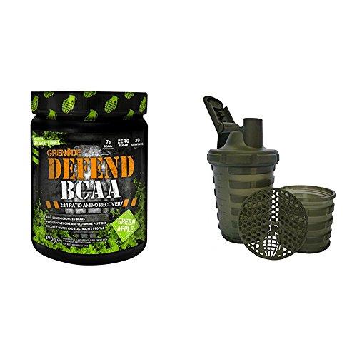 Grenade Defend BCAA, Apple, 390 g with Grenade Shaker