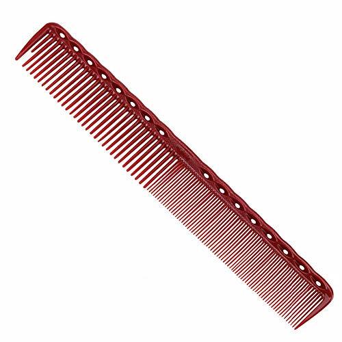 LJK Anti-Statique Rouge Coiffure Peigne De Lissage Peigne Barber Cheveux Peignes Ensemble 4 pcs/Ensemble, Rouge
