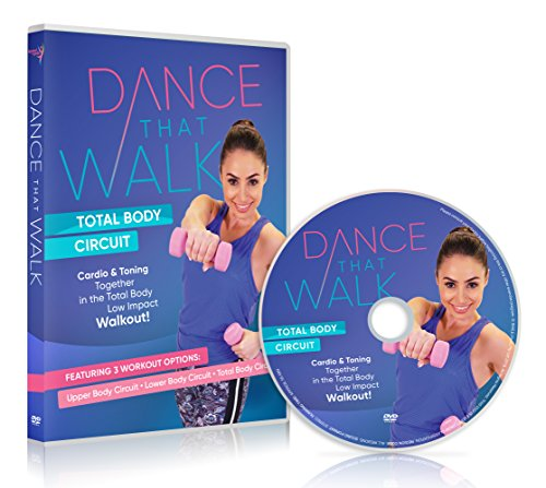 top 10 gina b fitness Dance That Walk-Whole body circuit: DVD with cardio and toning, less influential walking training