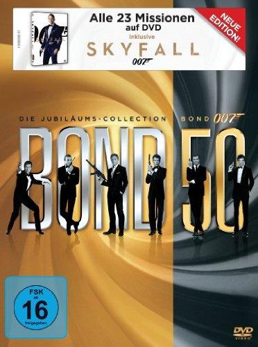 James Bond 007: Die Jubiläums-Collection inkl. Skyfall (23 Discs)