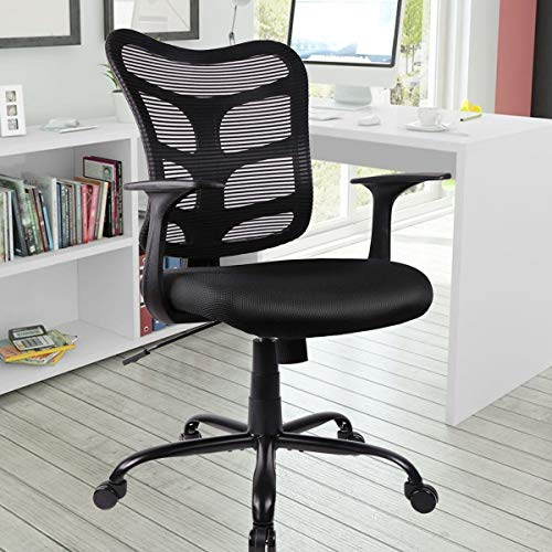 Office Chair, Ergonomic Mesh Computer Task Office Desk Chair with Swivel Casters for Home Office Conference