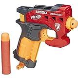 Hasbro BigShock Pistola de Juguete BigShock, Pistola de Juguete, 8 año(s), Niño/niña, Gris, Naranja, Rojo, N-Strike Mega, 1 Pieza(s)