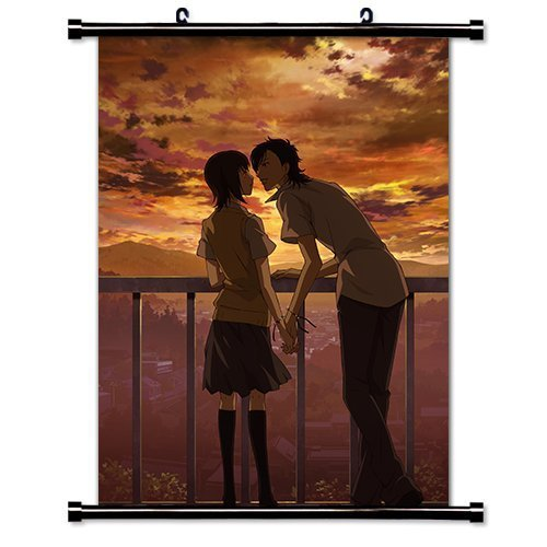 Say I Love You Anime Fabric Wall Scroll Poster (16 x 23) Inches by Anime Wall Scrolls