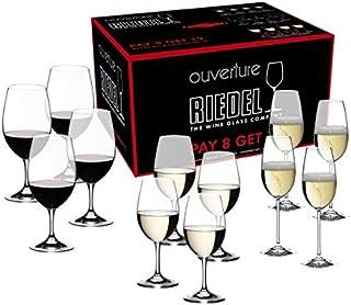 Riedel Ouverture Set mit Gläsern für Rotwein, Weißwein und Champagner