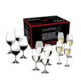 Riedel Ouverture Wine Glass, 12 Count (Pack of 1), Red & White & Champagne