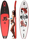 Sup Tabla de Surf Hinchable 335 x 82 x 15cm 6en1 Set con Fibra de Carbon Paddle Tabla Inflable Stand Up Paddle Peso Máximo 150 kg Sup Premium Tabla Hinchable Paddle Surf