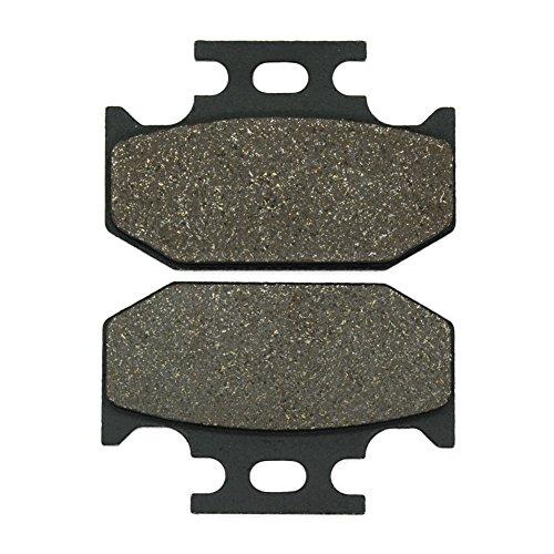 Cyleto Plaquettes de frein arrière pour Kawasaki KX125 KX 125 1989-1994 KDX 125 1990-1994 KDX 200 1989-1994 KDX 220 R 1997-2006 KX 500 1989-1995 KLX 650 1993-1997