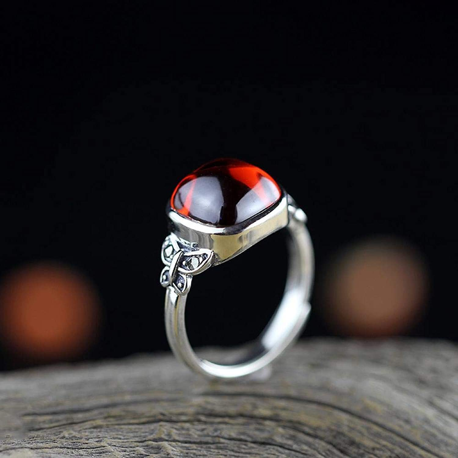 DTZH Rings Jewellery Ring S925 Sterling Silver Ring Butterfly Ladies Opening Ring Gift to Dear
