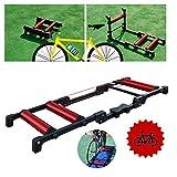 DX Allenatore Bici Pieghevole - Allenatore Turbo Bici - Allenatore Bicicletta Indoor Rulli...