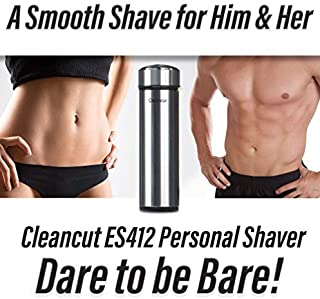 Cleancut – ES412 – Intimate and Sensitive Area Shaver – Designed for..