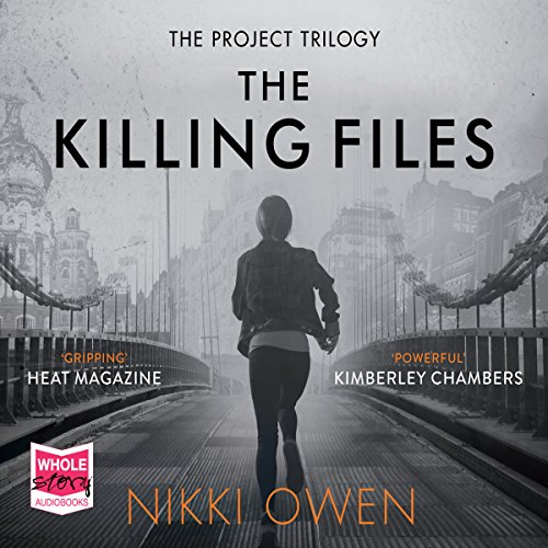 The Killing Files audiobook cover art