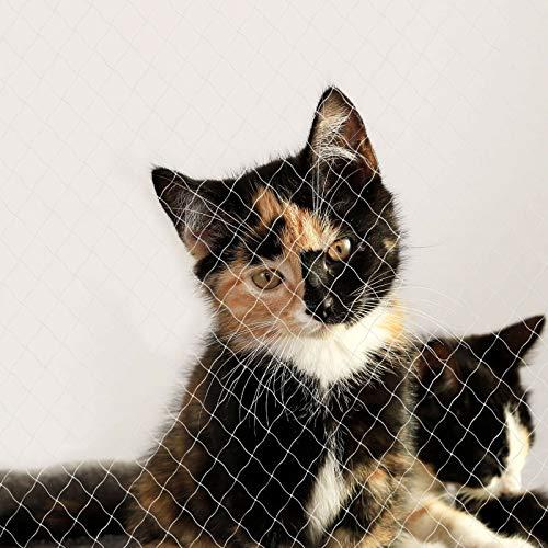 ADHW Katzennetz Balkonschutznetz Katzenschutznetz Größe 4x10 m (L)