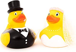 Bride & Groom Rubber Duck Gift Set | by DITW Designs