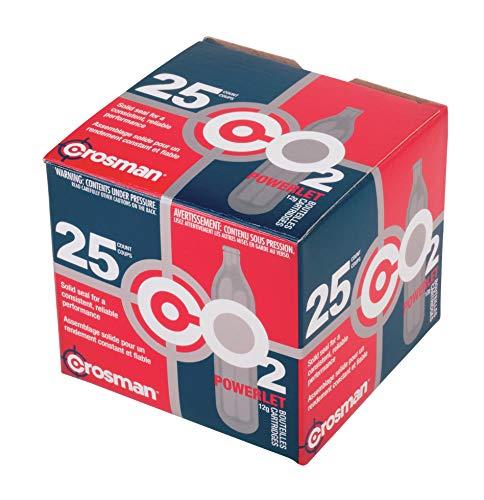 Crosman 12-Gram CO2 Powerlets, 25ct