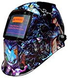 prolinerte USA Seller, Fmt Auto Darkening Solar Powered Welders Welding Helmet Mask with Grinding Function
