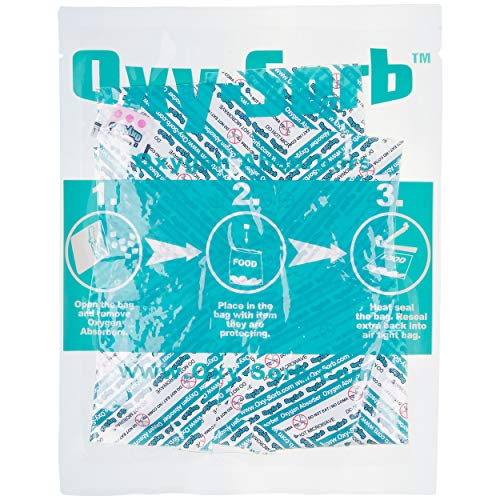 Oxy-Sorb 600-Pack Oxygen Absorber, 20cc