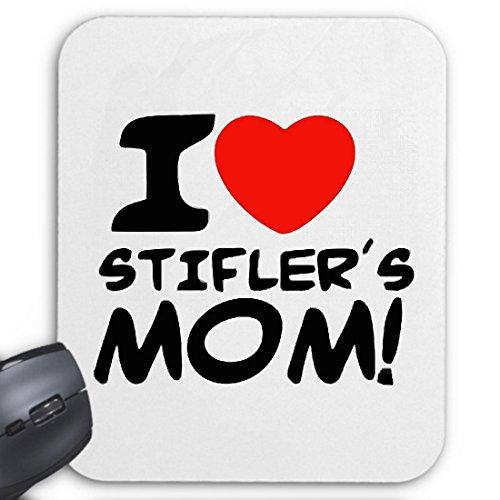 Reifen-Markt Mousepad (Mauspad) I Love Heart Stifler´s Mom American Pie Stifmeist für ihren Laptop, Notebook oder Internet PC (mit Windows Linux usw.)