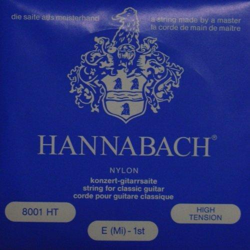 Hannabach 800 blau Konzertgitarre, high tension