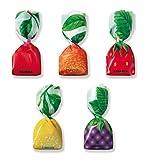 Mangini, Italian Fruit Jam Filled Candy (Frutta) (2.200 Lbs)