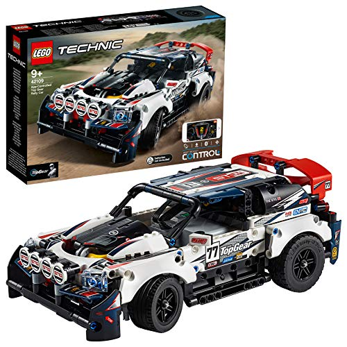LEGO Technic - Coche de Rally Top Gear Controlado por App,