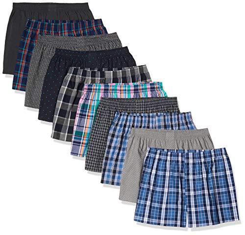 CityLife, 10er Pack Boxershorts, Mehrfarbig (Classic Multicolour 5 C-10-5), Large (Herstellergröße: L)