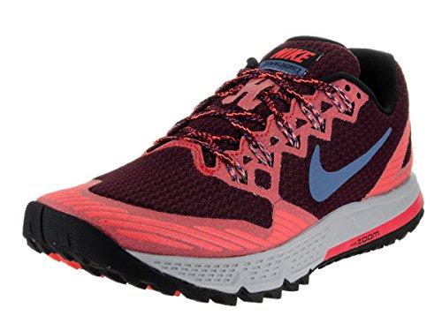 Nike Men's Air Zoom Wildhorse 3 Night Maroon/Ocean Fog Running Shoe 13 Men US