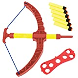 ArtCreativity Red Super Bow and Arrow Shooter Set - Comes in Blister Card
