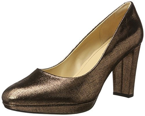 Clarks Damen Kendra Sienna Pumps, Beige (Copper Metallic), 41 EU