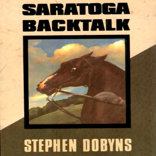Saratoga Backtalk audiobook cover art