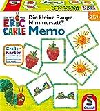 Schmidt Spiele 40455 Die Kleine Raupe Nimmersatt, Memo und Legespiel, bunt