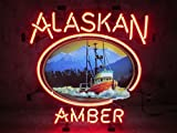 Desung 24'x20' Alaskan Brewing Company Amber Neon Sign (VariousSizes) Beer Bar Pub Man Cave Business Glass Lamp Light DC146