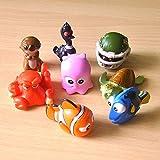 Guiping 8 unids/lote 4 cm vinilo muñeca niños adornos automotriz decoración...