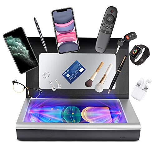 SALKING Handy UV-Licht Sterilisator Tragbare, Ultraviolett Box, UV-Licht mit Ozon-Desinfektion, für iOS Android Smartphone, Schmuck, Uhren, Schönheitswerkzeuge