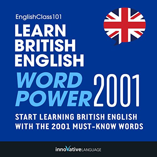 Learn British English audiobook cover art
